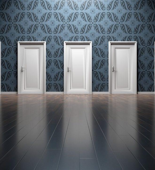 wejście drzwi