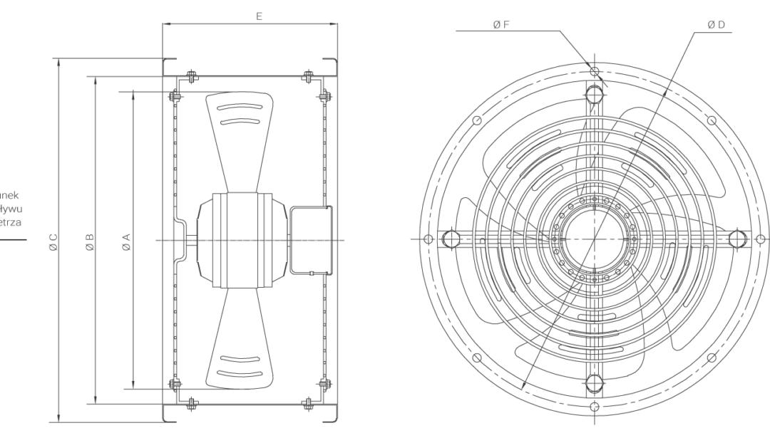 wentylator kanałowy